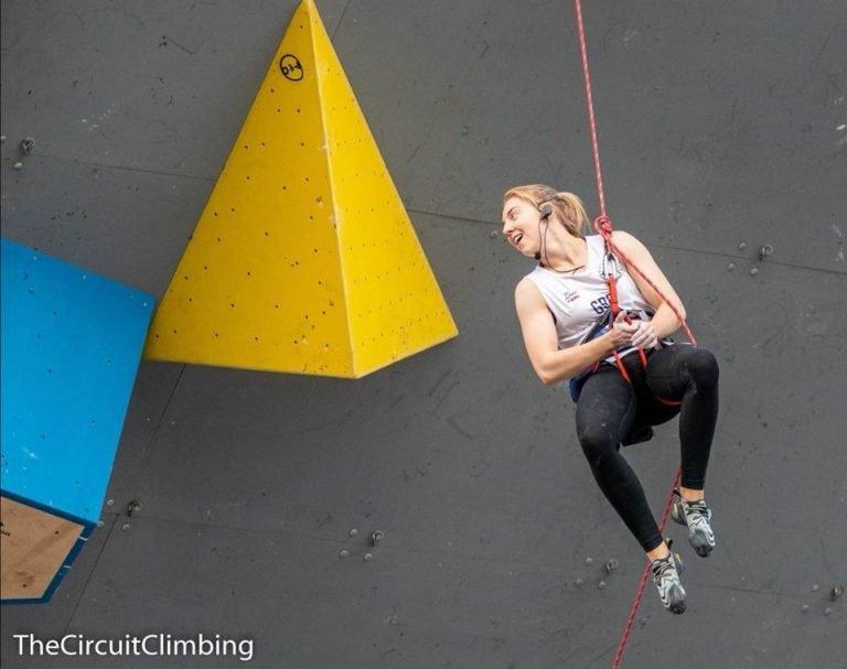 Paraclimber Abbie Johnson