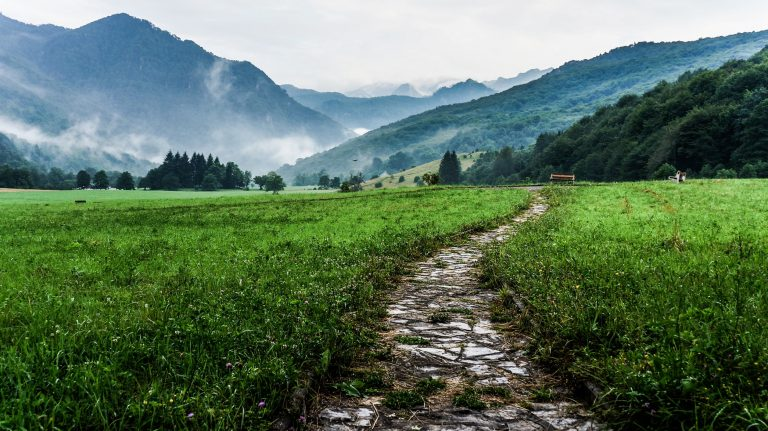 Photo of a rural pathway