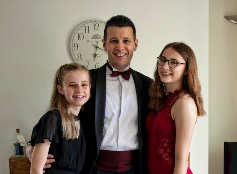 Colin & daughters