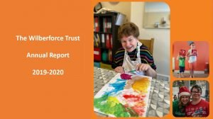 Front Cover of The Wilberforce Trust - Annual Report - 2019-2020