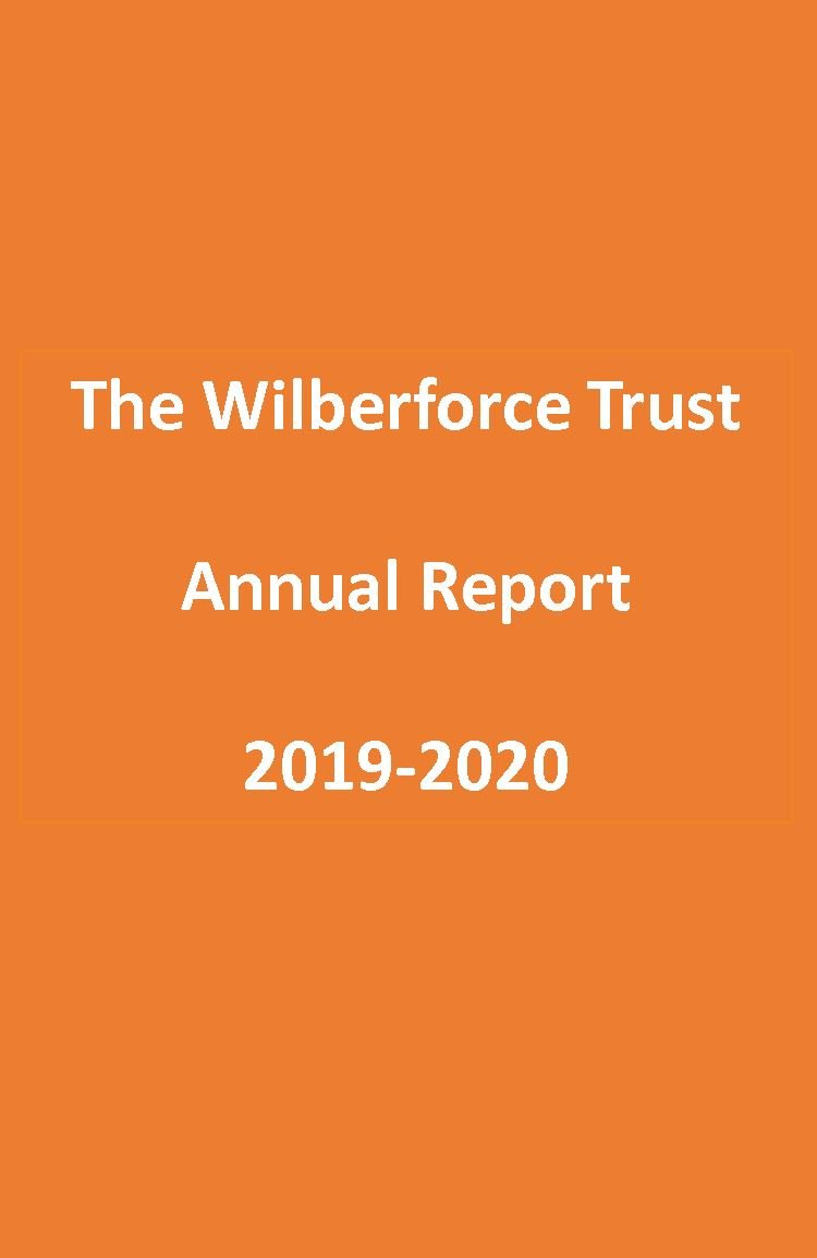 The Wilberforce Trust - Annual Report - 2019-2020 - Title