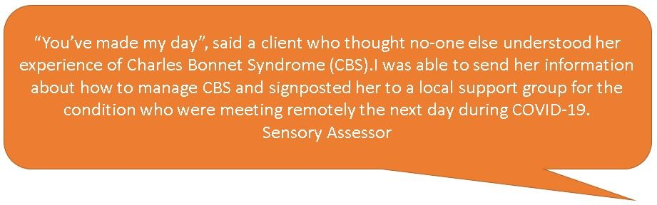 Sensory Assessor Quote