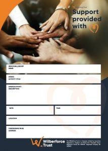 Wilberforce Trust - Event Poster