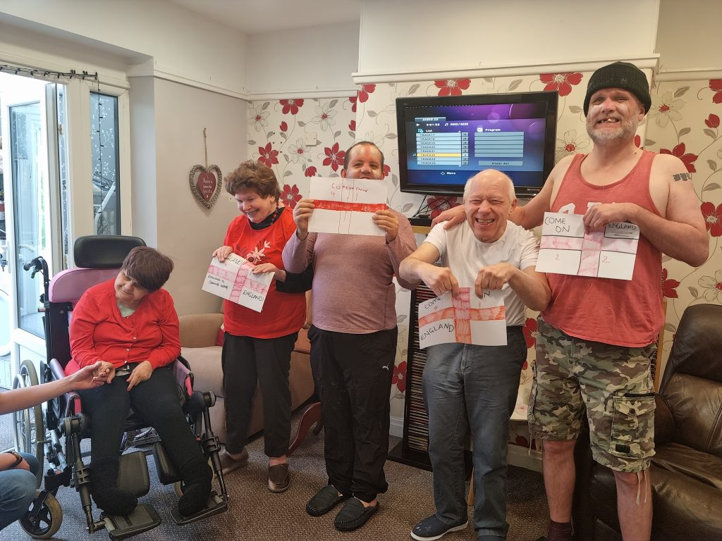 Tenants support England